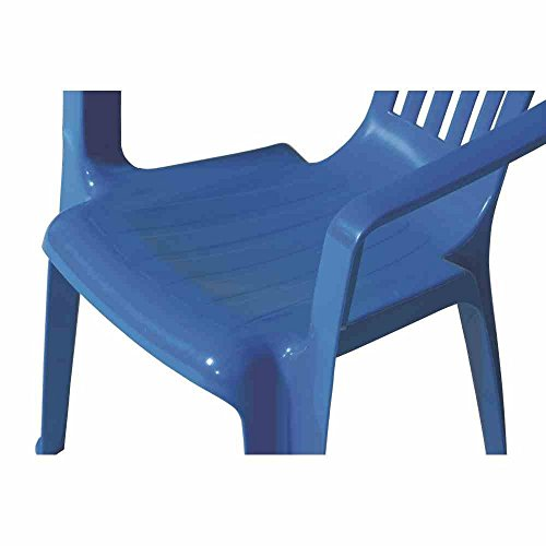 Fun Star Kindersessel blau