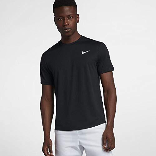 Nike Herren M Nkct Dry Ss Clrblk T-Shirt, Schwarz (black/White), - Shirt Nike Tennis
