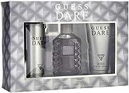 GUESS Dare Eau De Toilette Set For Men, 3 x 100 ml