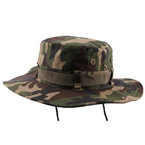 Hip Hop Honour Bob Safari Army Camouflage avec Lien - Mixte