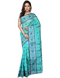 Madhushree Handloom Cotton Tant Saree, Traditional Bengali Wear