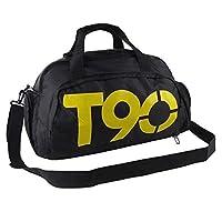 حقيبة دفل نايلون لل للجنسين,اسود - حقائب دفل للنشاطات الرياضية والخارجية