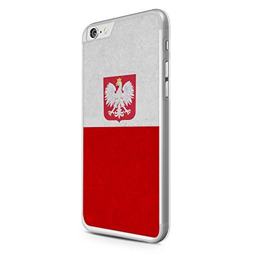 Polen Polska Poland Flagge Apple iPhone 6 Hülle Cover Case Schale