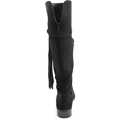 Calf Mode hoch INC Stiefel Knie Concepts Black Wide Fayer International Rund ISq1O