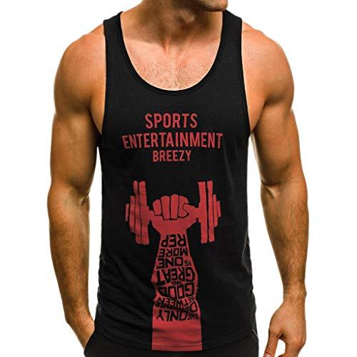 REALIKE Herren Weste T-Shirt 3D Drucken Hand tanken O-Ausschnitt Ärmellos Oberteil Sport im Freien Summer Slim Fit Blusen Männer Erfrischend Bequem Atmungsaktiv Leicht - Pit-crew Hemd