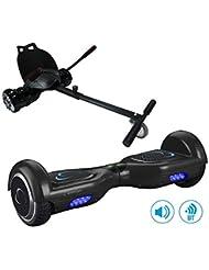 SmartGyro X2 UL Black con Go Kart Black - Pack Hoverboard y Kart (Ruedas de