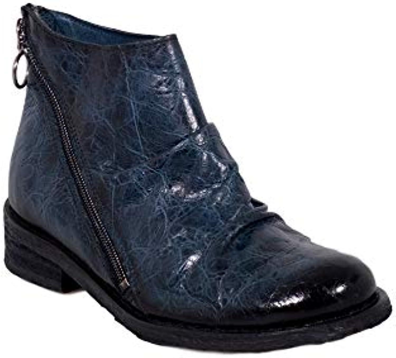 Felmini - Chaussures Femme - Tomber en Amour avec GRouge GRouge avec o B557 - Bottines à Fermeture éclair - Cuir Véritable -...B07G49DK5VParent 496141