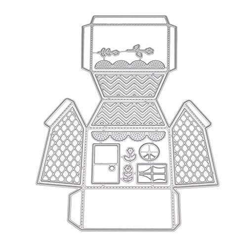 huijun Candy Box Formen Schablone DIY Scrapbooking Prägung Papier Karte Home Decor