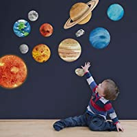 Solar system wall sticker | Space wall stickers | Perfect for a creating a space themed room