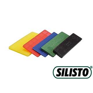 SILISTO Verglasungsklötze Set, Kunststoff, 600 Stück, 53528bs
