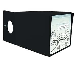 Sign e sgdnr gt bo te aux lettres 2 portes noir globetrotter bricolage - Boite aux lettres 2 portes gris anthracite ...