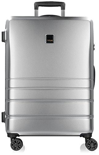 Titan Ready 2.0 4-Rollen Trolley 65 cm mit Doppelrollen