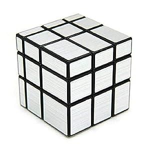 Lyanther 3 x 3 Spiegelwürfel Puzzle, Silber
