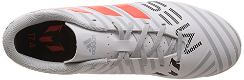 adidas Herren Nemeziz Messi 17.4 in Fußballschuhe Mehrfarbig (Ftwr White/solar Orange/clear Grey )