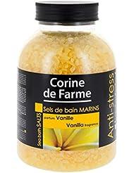 Corine de Farme Sels de Bain Marins Anti-Stress Vanille