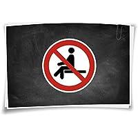 Schild 400 x 300 mm Privatgrundstück Müll entsorgen verboten