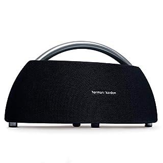 Harman Kardon Go + Play - Altavoz Bluetooth portátil con batería Recargable y micrófono Dual, Color Negro (B01EN5T076) | Amazon Products