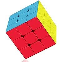 ROXENDA Zauberwürfel, Professional 3x3x3 Speed Cube - Schnelles Glatt Drehen - Solid Durable & Stickerless Matt, Bestes 3D Puzzle Magic Toy - Dreht Schneller als das Original