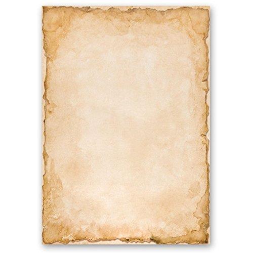 Briefpapier VINTAGE DIN A5 Format 50 Blatt