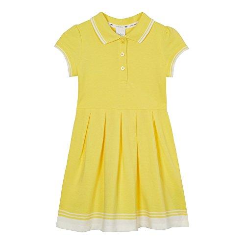 j-by-jasper-conran-kids-girls-yellow-tipped-pique-dress-age-2-3