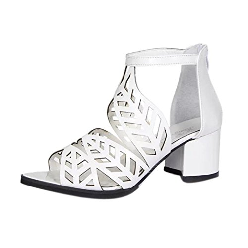 OYSOHE Damen Vintage Sommer Frauen Schuhe Sandalen Plattform Keil High Heels Bohemian Schuhe Sandaletten mit gekreuzten Fersenschuhen (Keil Für Plattform Frauen Schuhe)