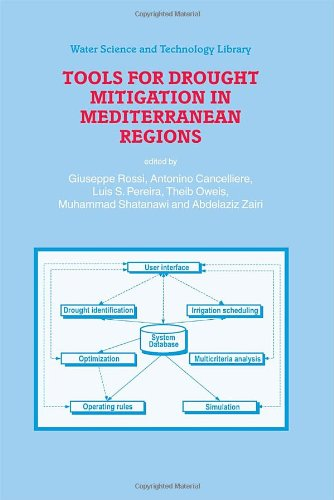 Tools for Drought Mitigation in Mediterranean Regions (Water Science and Technology Library)