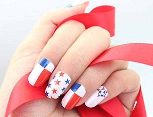 Autocollants Nail National Pattern Drapeaux Full Cover Nail Art Papiers Pre Design Press (Panama)