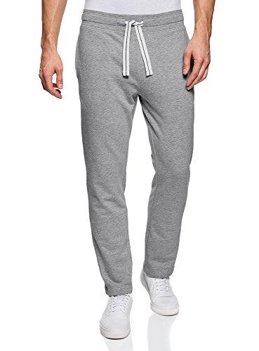 Oodji Ultra Hombre Pantalones de Punto Básicos
