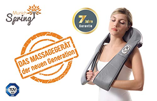 DAS MASSAGEGERÄT DER NEUEN GENERATION - Das OPTIMUS NEW GENERATION Massagegerät * Ganzkörpermassagegäret * mit Wärmefunktion * 8 Massagekugeln * 7 Jahre Garantie *