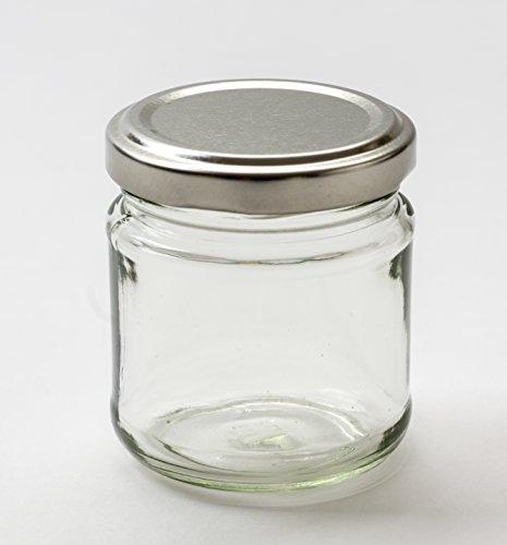 Nutley's Lot de 24 petits bocaux en verre à marmelade 100 ml