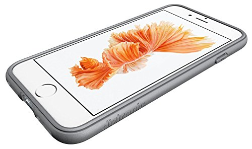 Diztronic DIZ019 TPU Hülle für Apple iPhone 7 pixlee-orange Pixlee Alloy Gray