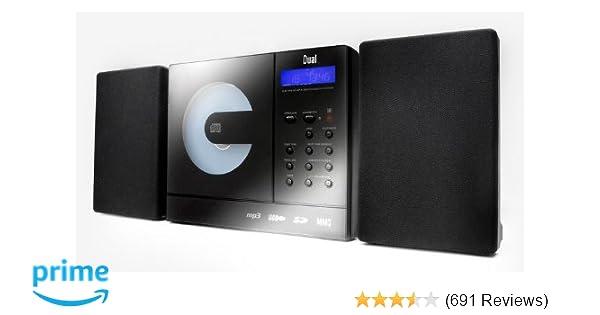Dual vertical 150 kompaktanlage schwarz: amazon.de: elektronik
