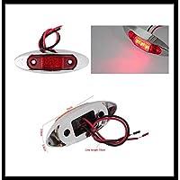 Limitazione LED luci, Set da  pezzi (con base cromata,/Rosso) 100X 26X 38mm Dodge RAM 15002500Ford F150F250ecc.