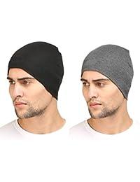 Huntsman Era Cotton Helmet liner / Skull cap/ cotton cap for men ( Pack of 2 )