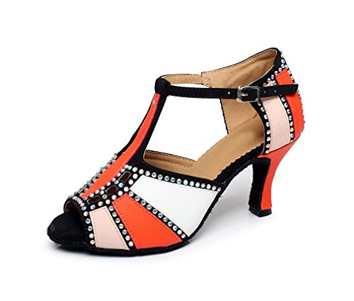 Minitoo ,  Damen Tanzschuhe Orange
