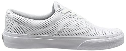 Vans Low-Top Sneakers Mixte Adulte White (Perf Leather - True White)
