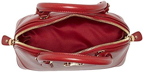 Salvatore Ferragamo Damen 21-e7 Henkeltasche, 13 x 20 x 26 cm Rot (Red)