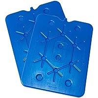ToCi–800G batería Sets planas para nevera portátil Acumuladores Eisbox nevera Pack Ice Pack Freeze tarjeta azul, 2 Stück