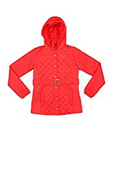 Allen Solly Junior Girls Jacket (AKGJK515033_Red_6 - 7 years)