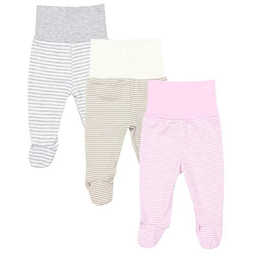 TupTam Polaina de Bebé para Niñas, Pack de 3, Mix de Colores...