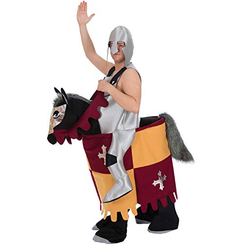 Herren Kostüm Pferd - Nines d´Onil Herren Kostüm Trag-Mich reitender Ritter Furchtlos Mittelalter Huckepack Karneval