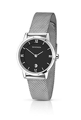 SEKONDA 2102.27 - Reloj de cuarzo para mujeres, color plateado de Sekonda
