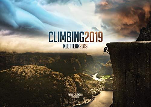 Climbing 2019: The 2019 Rock Climbing Calendar por ML Publishing Group