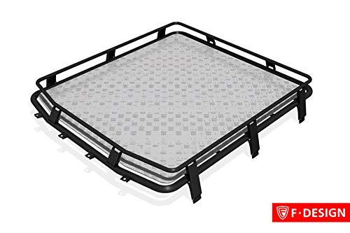 "Dachgepäckträger\""Expedition\"" mit Alumiumboden F-Design - 4X4 Niva / 4x4 / Urban"