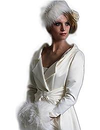 e814a61f576e Abito da sposa sartoriale Alta Moda made in italy - Cappotto Sposa -Abiti  sposa alta