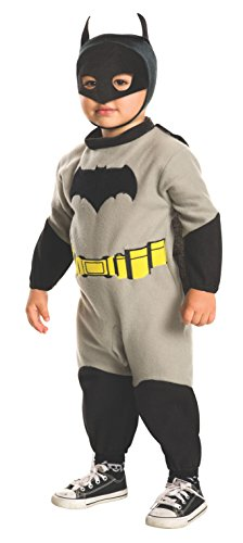 Batman V Superman: Dawn Of Justice - Batman Ez - On Romper Costume for Toddler (Batman V Superman Kostüm)