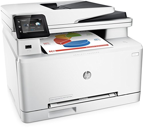 Cheapest HP MFP M277dw LaserJet Pro Color Printer + Extra Full Set Of Original HP XL Inks (Black 2800, C,M,Y 2300 Pages)