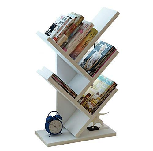 Bücherregal, Bambus 7-Shelf Baum Bücherregal Buch Rack Display Aufbewahrung Organizer Bücherregal...