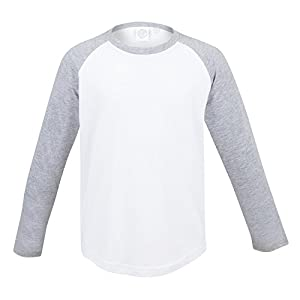 SF Mini Kids Long Sleeve Baseball T