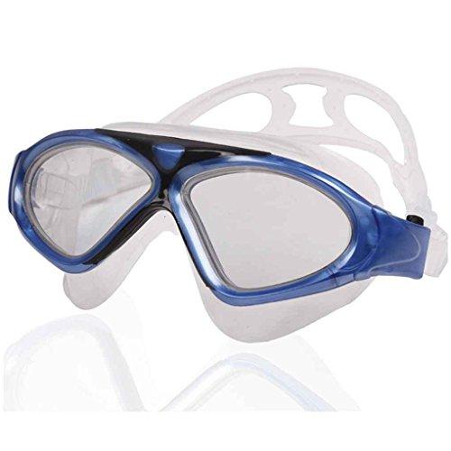 Junecat Anti-Fog-Sport Outdoor UnisexEyewear Big Arena Strand-Schwimmen-Gläser Männer Junge Bequeme Wasserdicht Schwimmbrille
